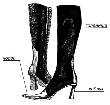 Сапоги являются древнейшим видом обуви на Руси, где их носили князья,  бояре, зажиточные люди. Материалом для верха сапог служил цветной сафьян ... 10f799d7aab